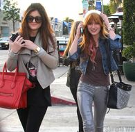 Bella Thorne Lunch