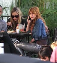 Bella Thorne Lunch37