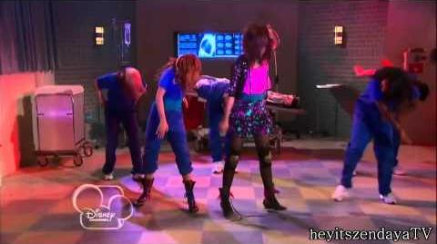 "Shake It Up ""Dancing for my life"" performance - Cece & Rocky dancing with Ty rapping HD"