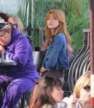 Bella Thorne Lunch26