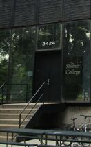 Shimer College admissions entrance near