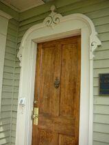Waukegan Hutchins building entryway door