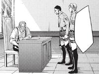 Erwin's plan is refused