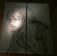 Isayama draws mystery man