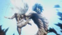 Eren kills the small Titan