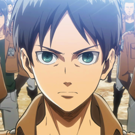Eren Yeager square picture