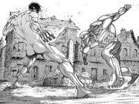 Eren and Reiner rematch