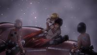 Armin unable to take Eren