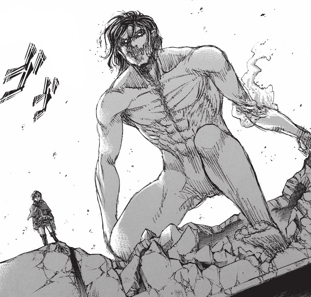 Attack on titan armin and eren