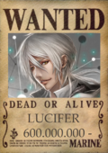 Lucifer wanted poster