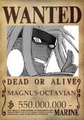 Magnus wanted poster