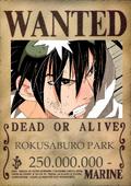 Rokusaburo wanted poster