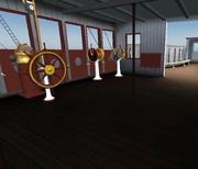 Titanic wheelhousy