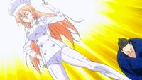Erina wins against Kiyoshi (anime)