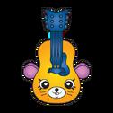 Plucky guitar ct art