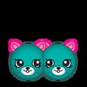 Earring twins art