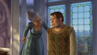 Fairy godmother human shrek - shrek 2