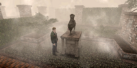 Inscribed Patrick Chester Statue