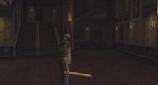 Travis exploring the Theater