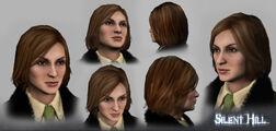 SM Cybil 3D Model Heads