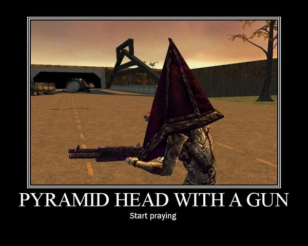 File:Pyramid Head With A Gun by Yohan Gas Mask.jpg