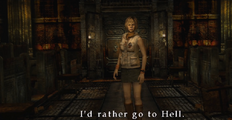 ''I'd rather go to Hell''