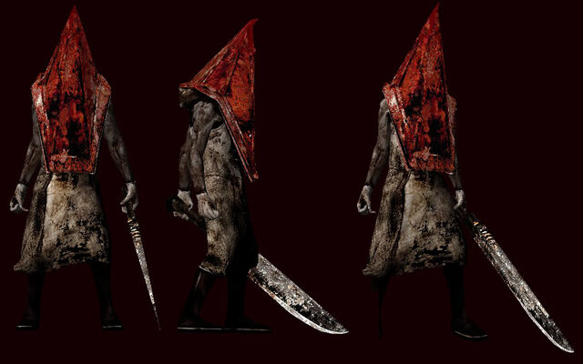 File:SH2 Pyramid Head models.jpg