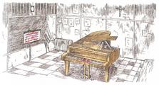 Music Room - Concept Art