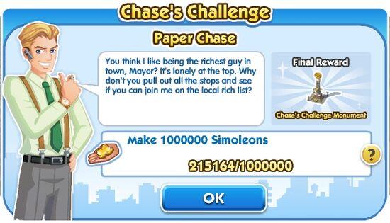 Chase's Challenge