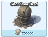 Giant Stone Head
