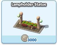 Lampholder Statue