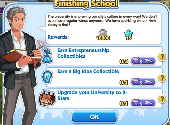 6finishing school