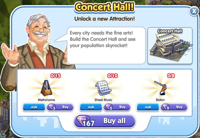 Concert Hall unlock