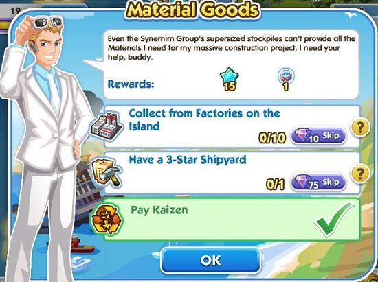 Material Goods