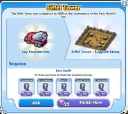 Eiffel Tower - Stage 1