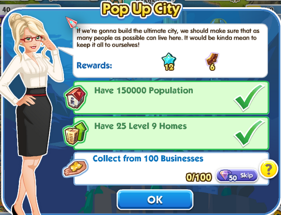 Quest - Pop Up City