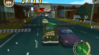 The Simpsons Hit and Run - E3 Better Than Beef Mission
