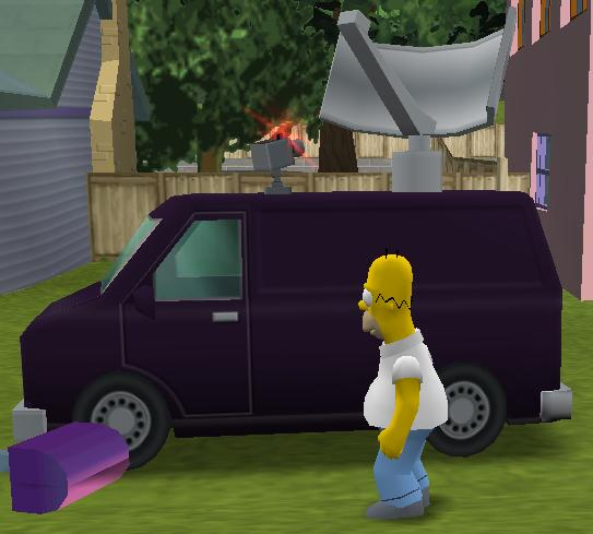 Surveillance Van The Simpsons Hit Amp Run Fandom