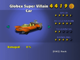 Globex Super Villain Car - Phone Booth