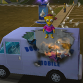 Book Burning Van - Ceiling