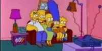 Mismatched Heads couch gag