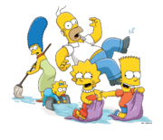 Simpson family water