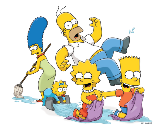 File:Simpson family water.png