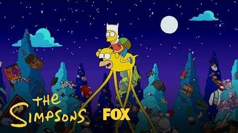 Simpsons Time Couch Gag Season 28 Ep. 1 THE SIMPSONS