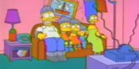 Electrocution couch gag