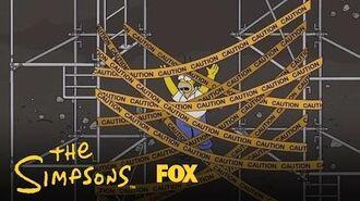 Homer Falls Through Mr. Burns' Trapdoor Season 28 Ep. 9 THE SIMPSONS