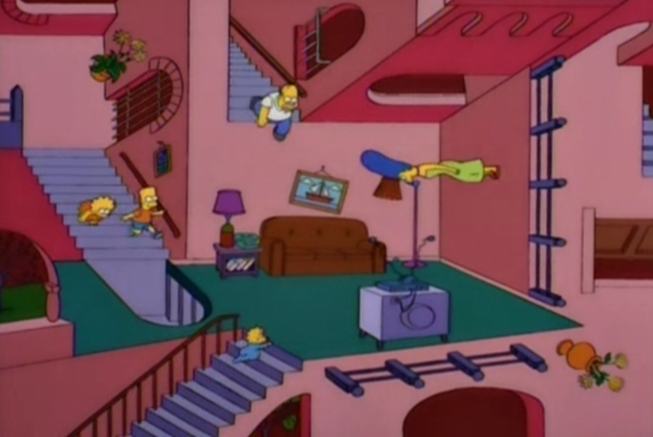Simpsons Living Room Best 2017