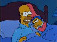 Homer Loves Flanders - Homer's bad dream