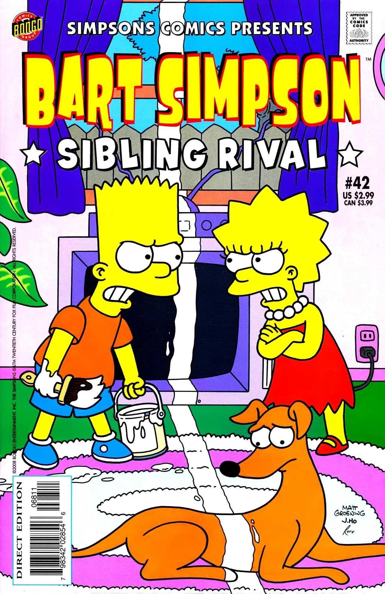 Симпсоны очаровательная сестра 28 фотография