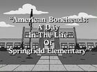 A Day in the Life of Springfield Elementary